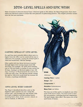 Universal Spell Points and High Magic Page 5