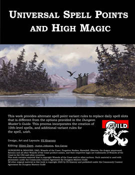 Universal Spell Points and High Magic cover