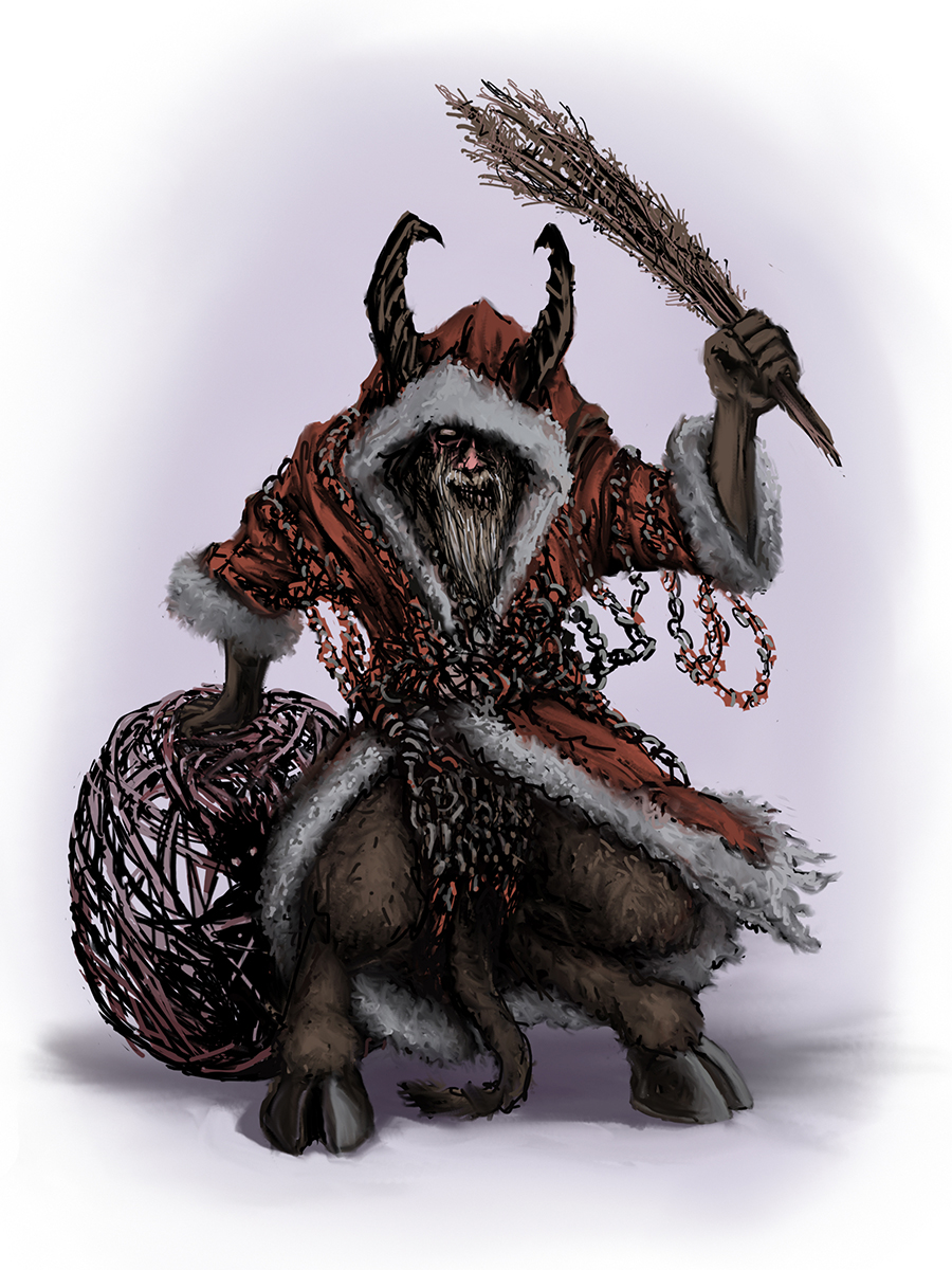 Krampus Stock Art