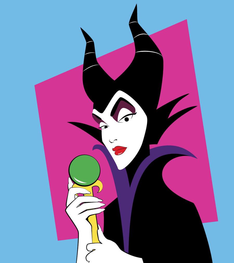 Nagelesque Maleficent by blackrock3 on DeviantArt