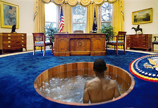 oval office pics. Oval Office Hot Tub By Blackrock3 Pics E