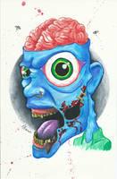 Eye Pain by twistedmentality