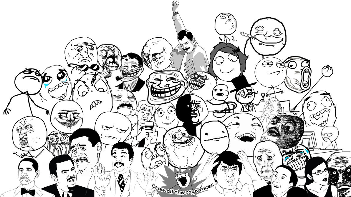 rage_faces_by_icemorbid d4zxvlb meme list meme faces, troll meme and all meme faces