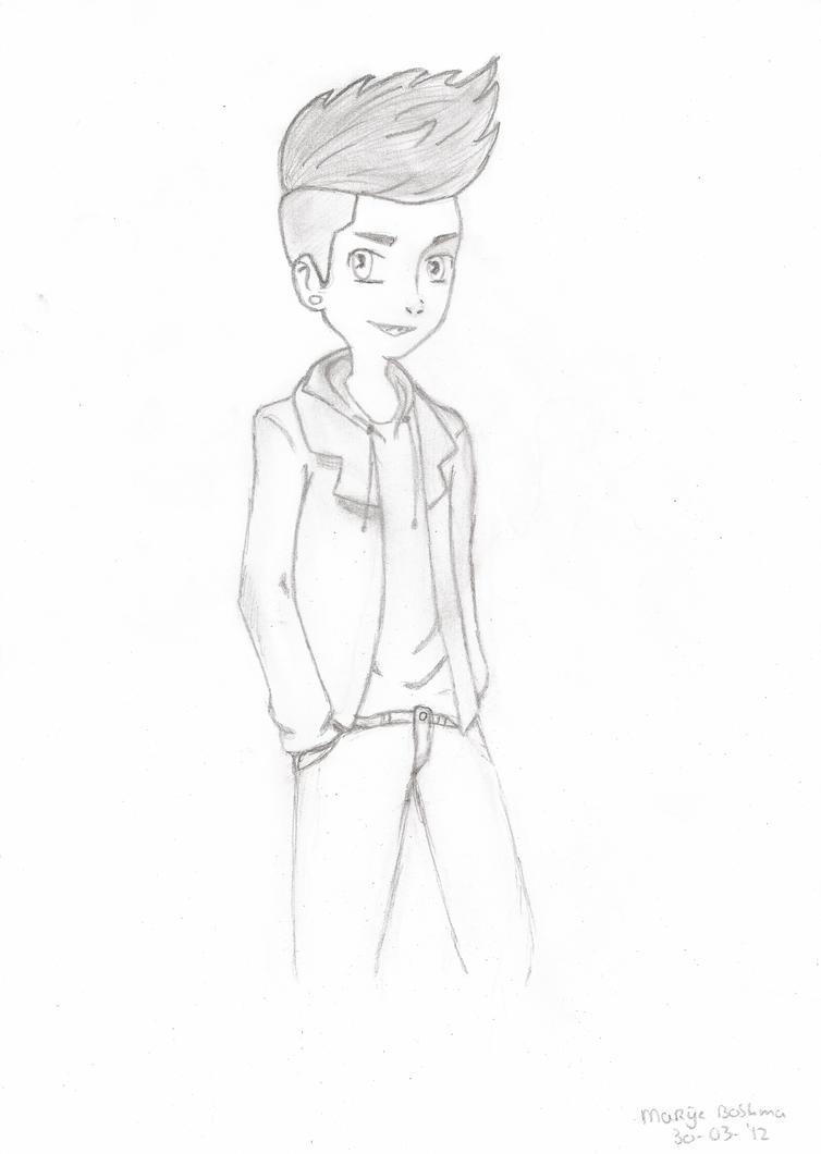 Zayn Malik Cartoon Drawing Anime Drawings of Zayn Malik
