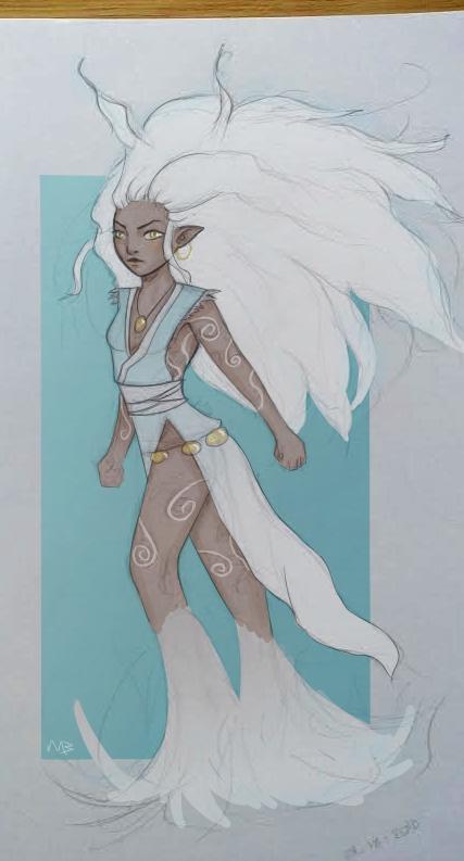Air goddess by Sluierstaartje