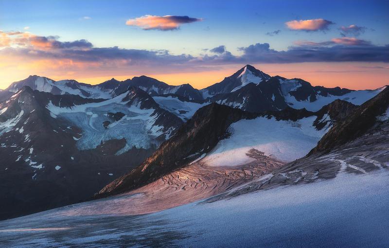 Winter Mountains by MrSebuhi