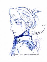 FMA: Riza Hawkeye by mk17design