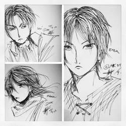 Shingeki no Kyojin by mk17design