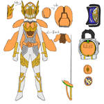 Kamen Rider Valkyrie Apricot form