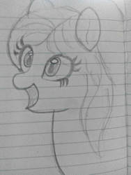 My first drawing of pony (proper ones) :p