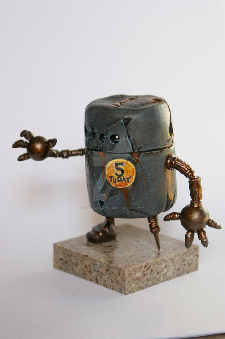Rusty Robot by SpaceCowSmith