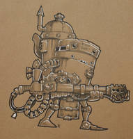 MCM Preview, Pyrobot by SpaceCowSmith