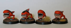 15mm Scale Carnosaurs