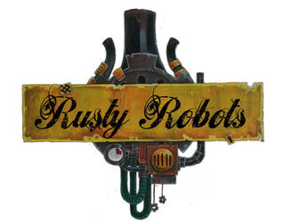 Rusty Robots Logo by SpaceCowSmith