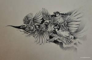 birds by noiaillustration