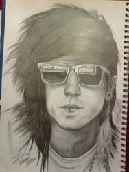 Sketch of a cool rocker...
