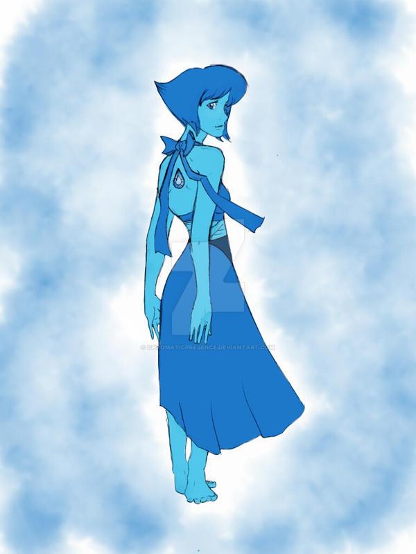 Lapis Lazuli from Steven Universe.