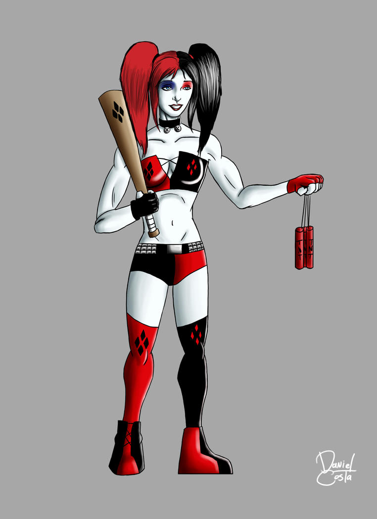 Harley Quinn New 52 by DanielBrother on DeviantArt
