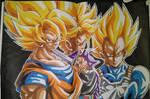 SsJ Goku SsJ Future Trunks SsJ Vejita