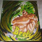 Broly Shikishi Art