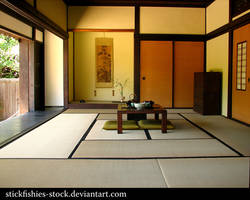 Japanese Room 1 by Stickfishies-Stock