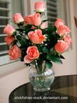 Vase of Roses 1