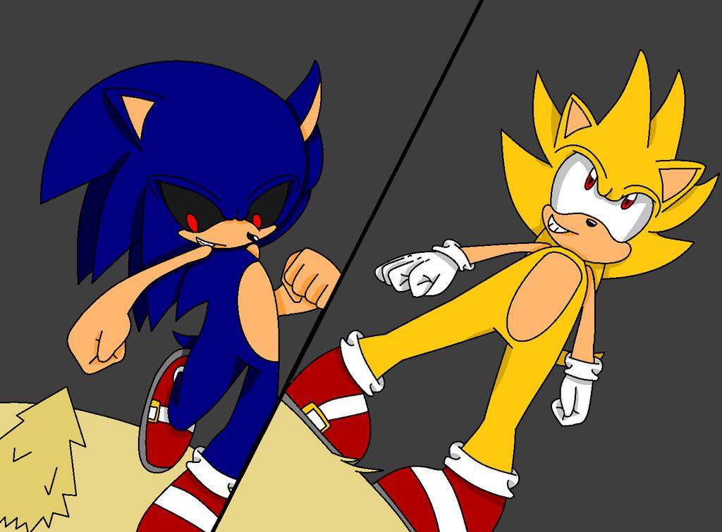 fleetway sonic vs sonic exe - photo #37