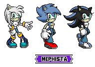 Mephista Pixel Arts(Main forms) by MephistaTheDark