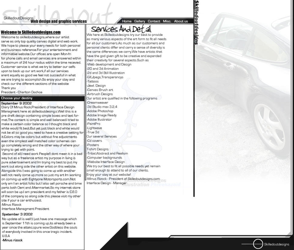 Skilledoutdesigns V 1 by diverseconcepts