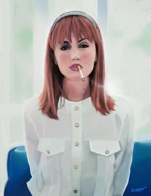 Justine Le Pottier by pgianni