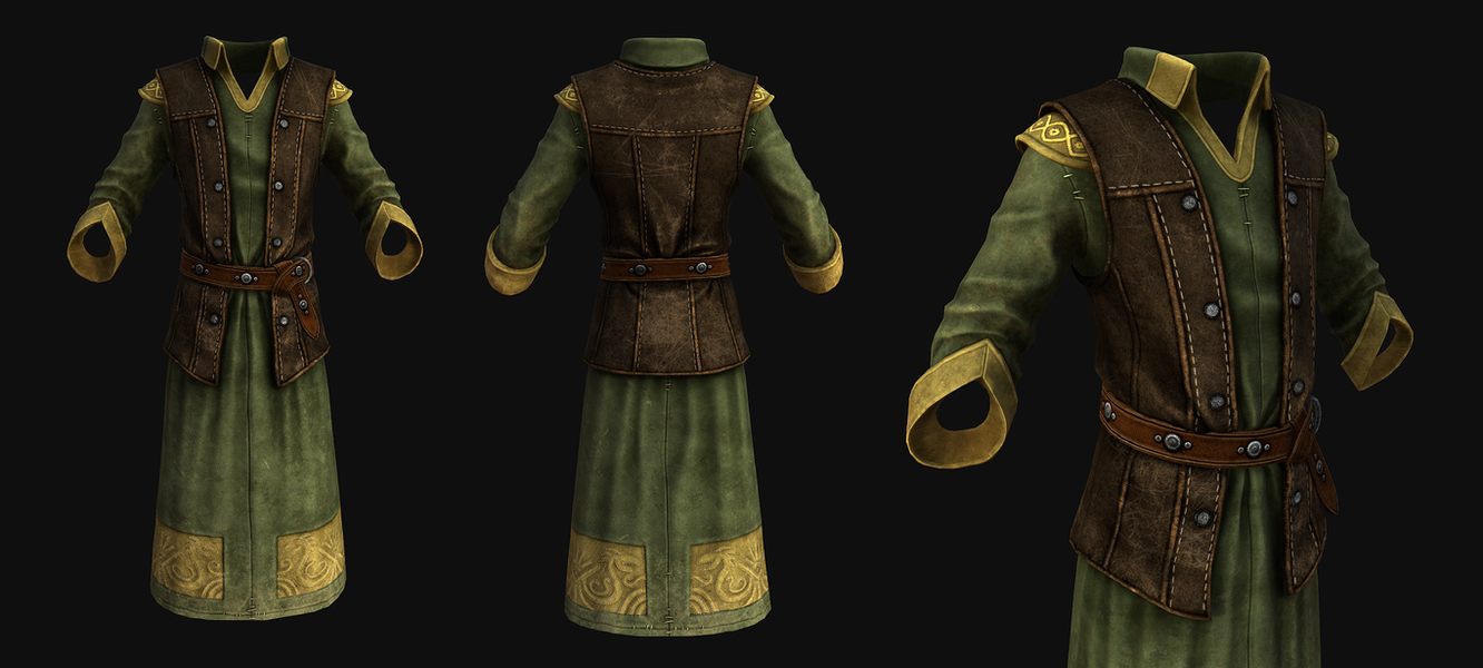 Imperial Upperclass Clothing (Male) by SteelFeathers
