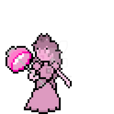 Pink Gold Peach Pixel Art By Stickman 01 On Deviantart