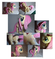 Fluttershy collage by PlanetPlush