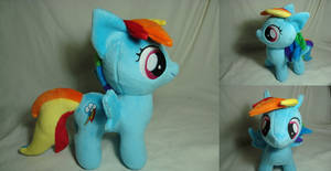 Rainbow Dash filly w/cutie mark