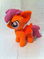 Naughty Scootaloo by PlanetPlush