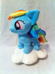 Cloudsdale Rainbow Dash by PlanetPlush
