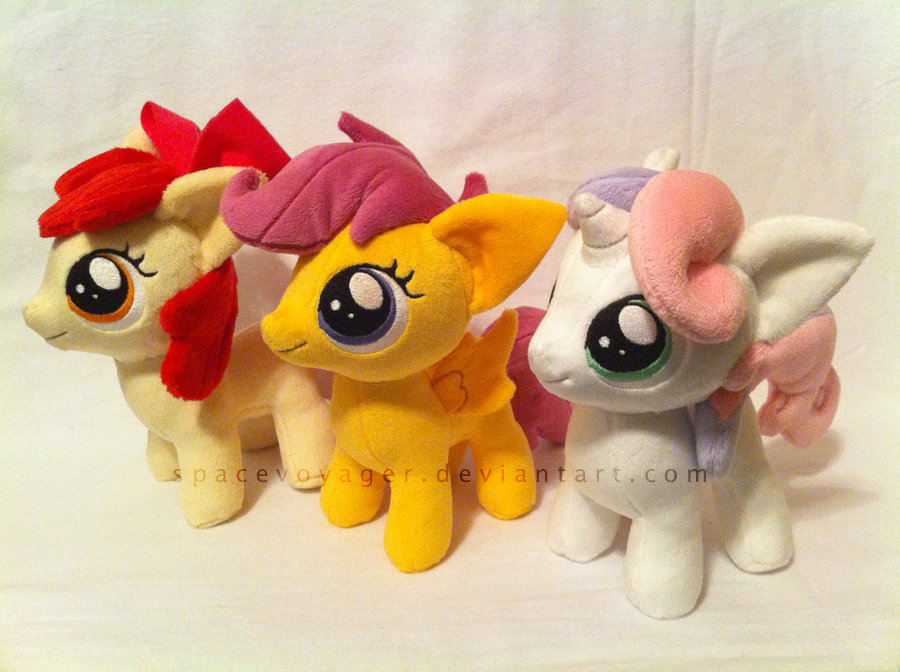 Cutie Mark Crusaders! by PlanetPlush