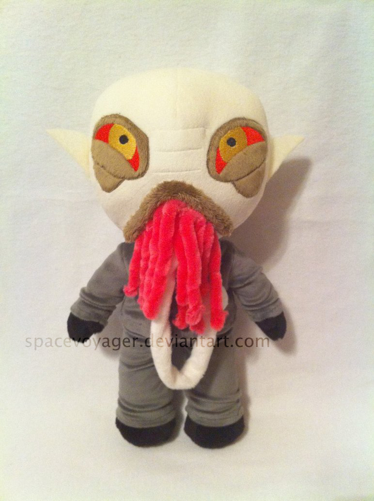 Ood plush - Doctor Who by PlanetPlush