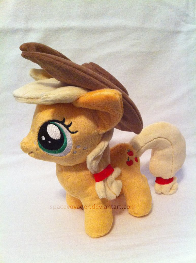 Applejack filly by PlanetPlush