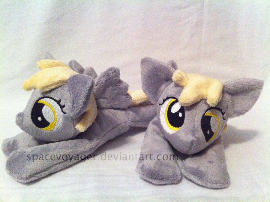 Derpy beanies by PlanetPlush