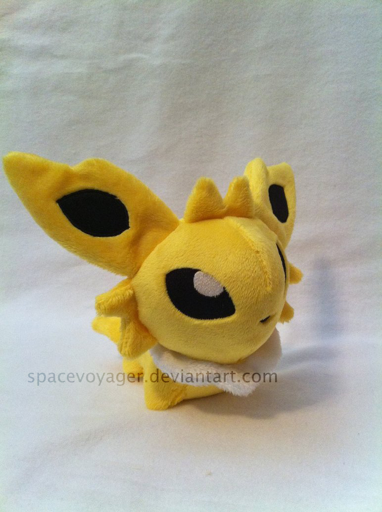 Jolteon pokedoll by PlanetPlush