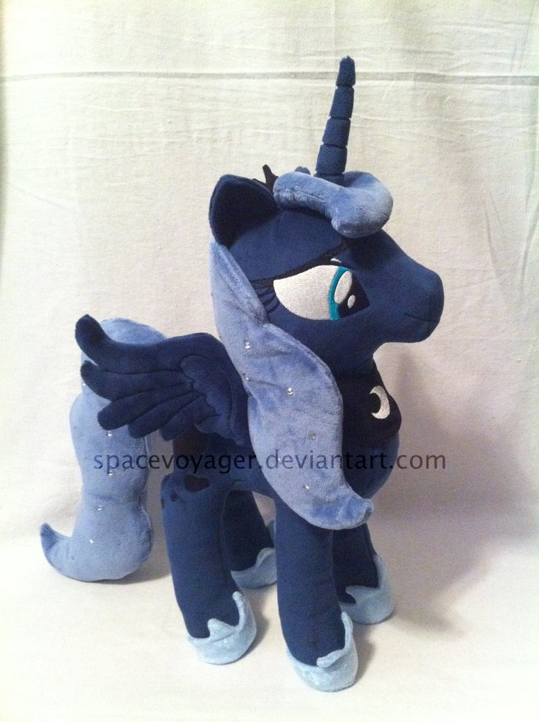 Princess Luna prototype by PlanetPlush