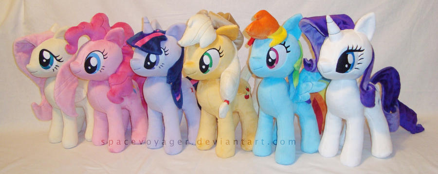 The Mane Six! by PlanetPlush