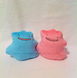 Ditto beanies by PlanetPlush