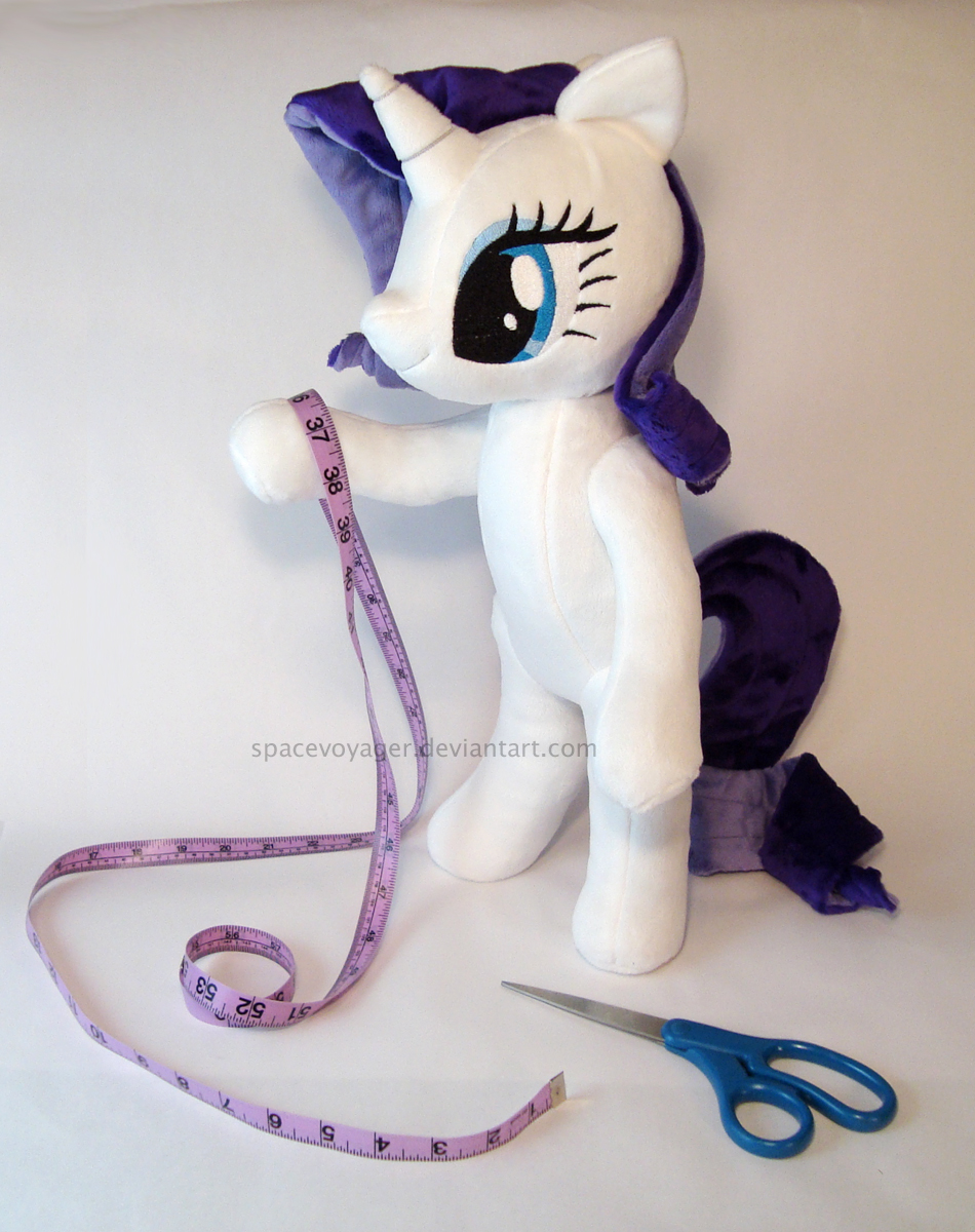 Rarity - The Art of the Dress by PlanetPlush