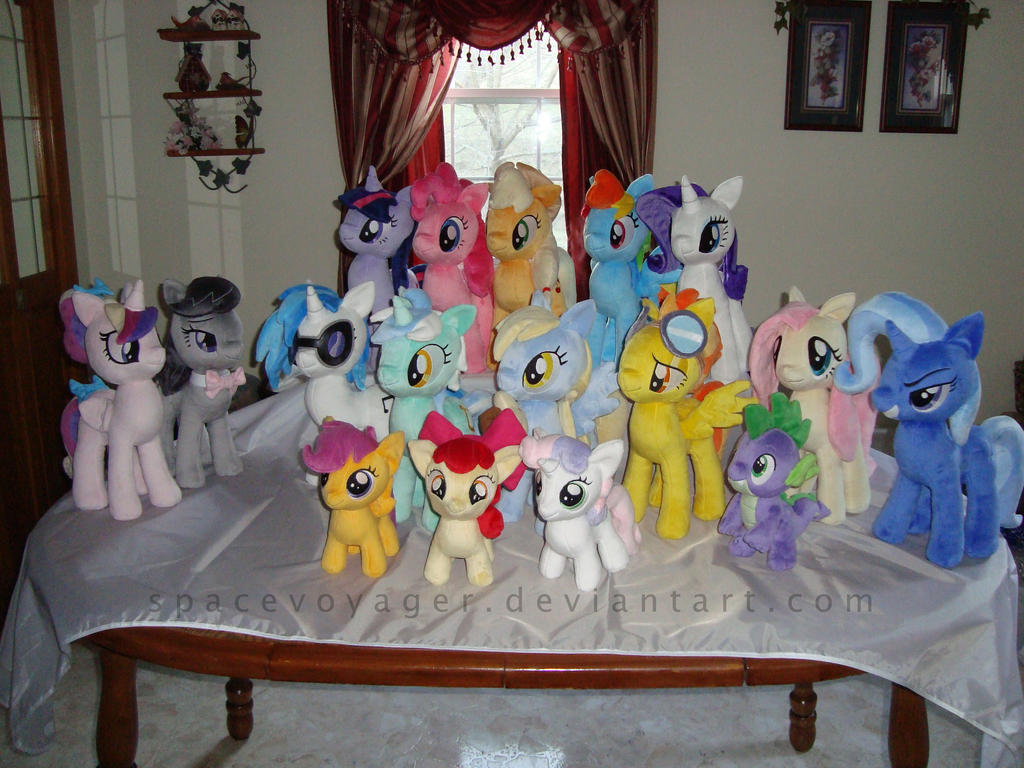 My Little Plushies by PlanetPlush