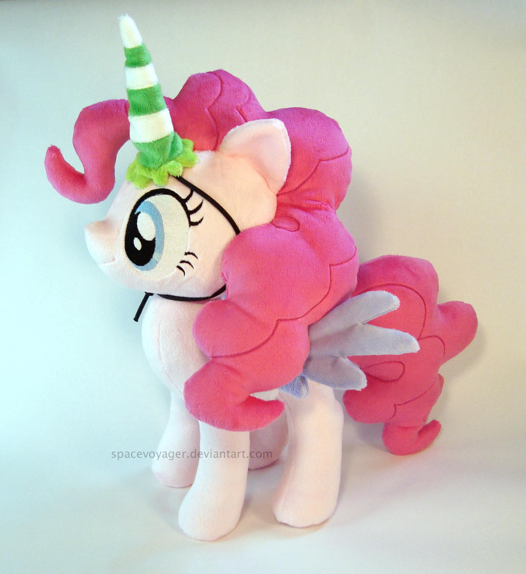 Alicorn Pinkie Pie by PlanetPlush