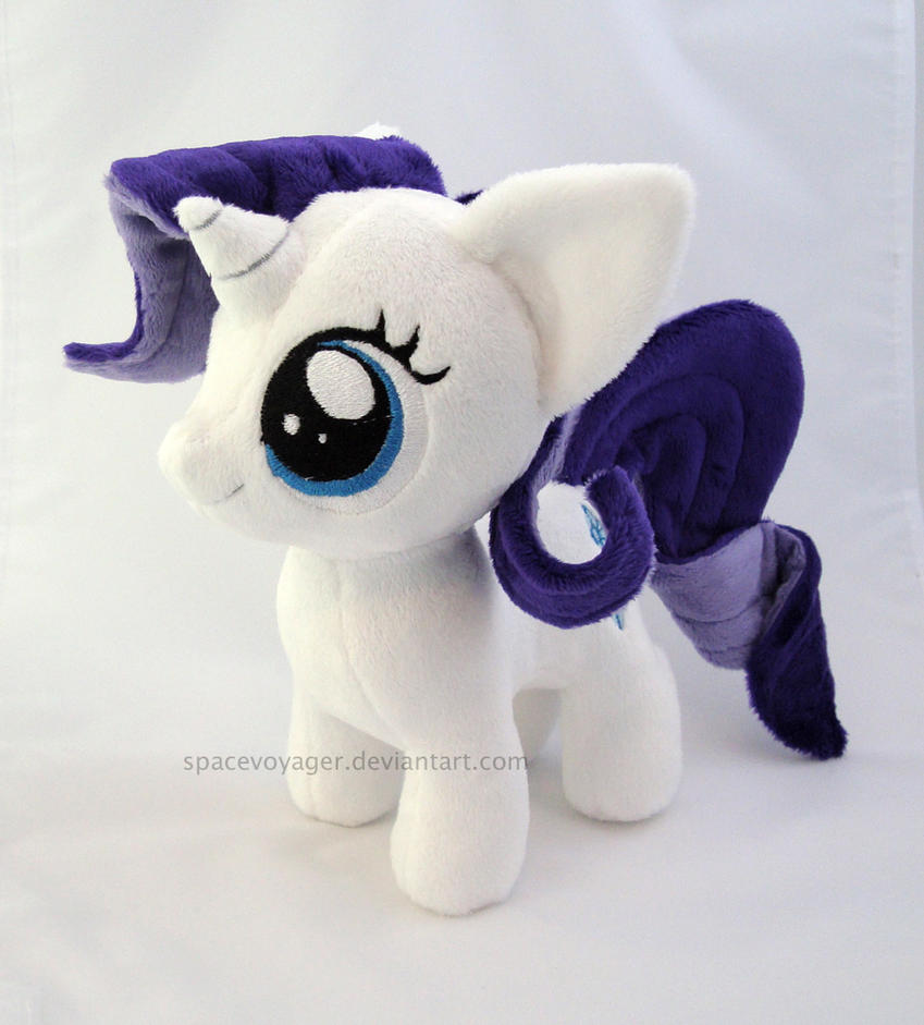 Rarity filly by PlanetPlush