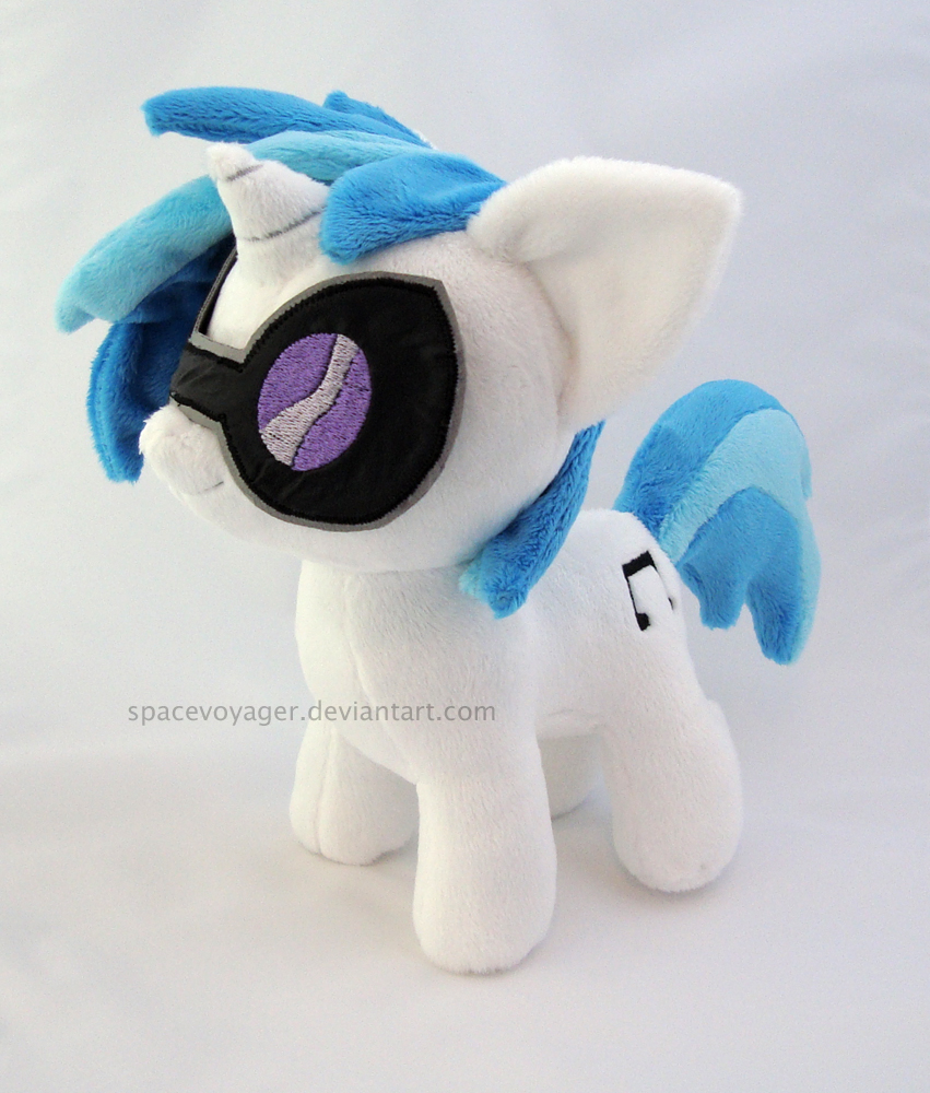 Vinyl Scratch filly by PlanetPlush