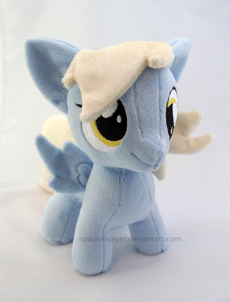Derpy filly by PlanetPlush